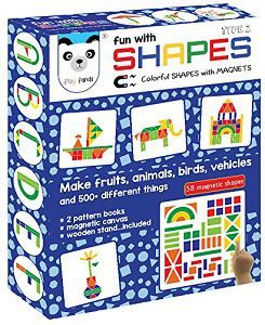 Play Panda New Fun Magnetic Shapes