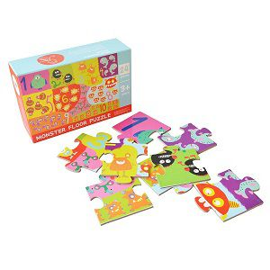 Shumee Monsters floor puzzle