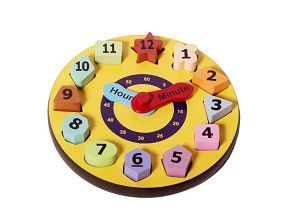 Shumee Shape & Number Sorting Clock