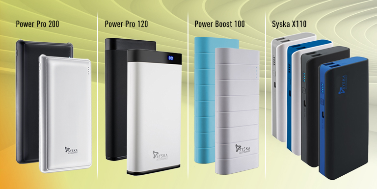 Syska Power Bank Range – All You Need to Know About