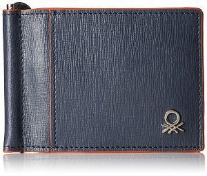 United Colors of Benetton Navy Blue Men's Wallet