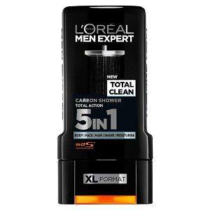 Loreal Men Expert Total Clean Carbon 5in1 Shower Gel