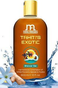 Man Arden Tahiti's Exotic Shower Gel