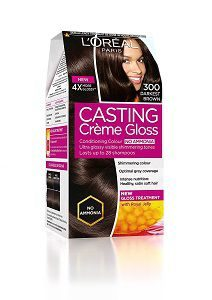 L'Oreal Paris Casting Creme Gloss, Darkest Brown 300