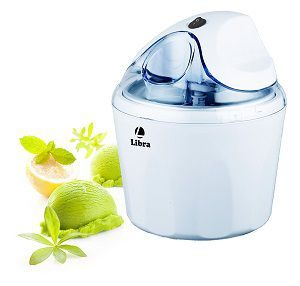 Libra Ice Cream, Sorbet, Slush & Frozen Yogurt Maker Capacity 1.5 liters