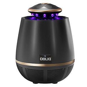 OBLIQ Mosquito Trap Killer USB Powered With 360 Degree UV Light For Indoor Outdoors