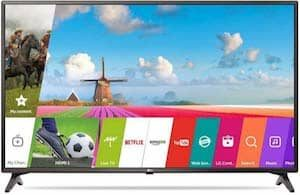 LG 108 cm 43 inches 43LJ554T Full HD LED Smart