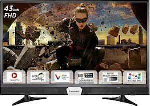 Panasonic 108.2 cm 43 inches Viera TH W43ES48DX Full HD Smart LED TV
