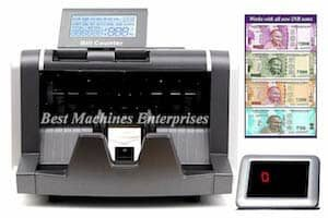 BME Stylo Latest Note Counting Machine with integrated False Detection