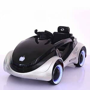 GetBest Battery Operated iRobot Kids Ride On Sports Car With Remote Control and Swing Option