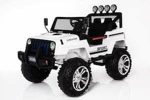GetBest Wheelie Jeep With 12V Battery Operated