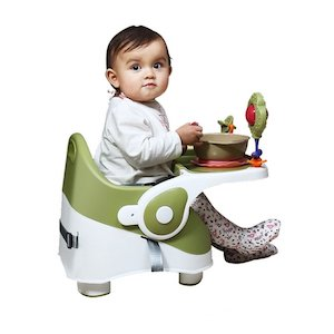 Goodluck Baybee Comfort Folding Baby Booster Seat Chair with 3 Point Safety Harness