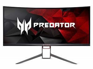 "Acer Predator Gaming X34 Pbmiphzx Curved 34"" UltraWide QHD Monitor with NVIDIA G-SYNC Technology"