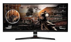LG 34UC79G Curved Gaming 21:9 Ultrawide Gaming LED Monitor 34 inch