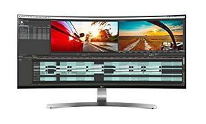 LG 34 inch Curved Ultrawide LED WQHD Monitor (34UC98)
