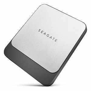 Seagate 500 GB Fast SSD USB C Portable External Hard Drive