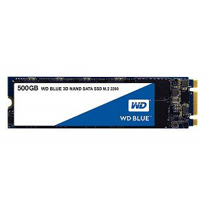 Western Digital Blue 500GB M.2 Internal Solid State Drive WDS500G2B0B