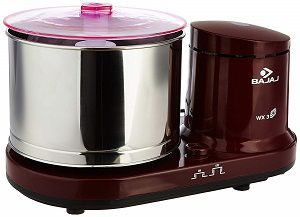Bajaj WX 3 150-Watt Wet Grinder without Arm