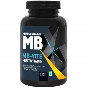 MuscleBlaze MB VITE Multivitamin with 24 vitamins and Minerals