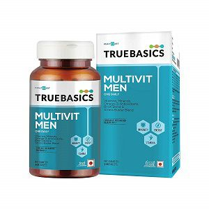 TrueBasics Multivit Men One Daily Multivitamins Multiminerals Omega 3