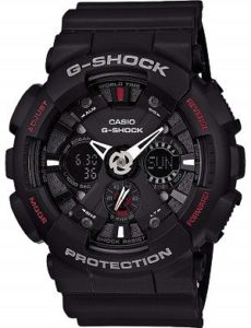 Casio G Shock Analog Digital Black Dial Mens Watch