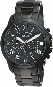 Fossil Grant Chronograph Analog Black Dial Mens Watch