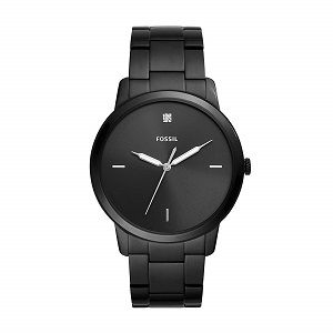 Fossil The Minimalist 3h Analog Black Dial Mens Watch