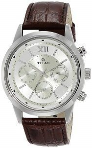 Titan Neo Analog Champagne Dial Mens Watch