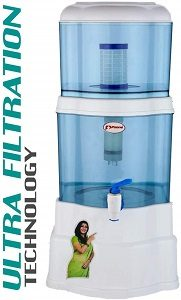 P ZONE Aquagem 18 litres Water Filter with Ultra Filtration Technology