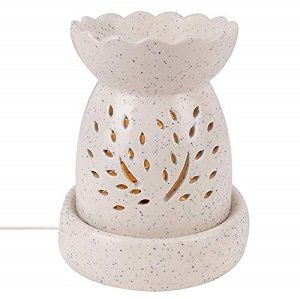 Nualoha Ceramic Electric Aroma Oil Scented Diffuser with Bulb